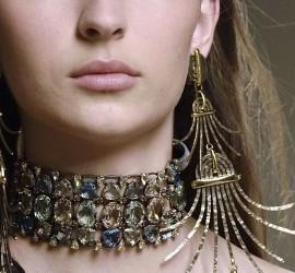 ожерелье-чокер, чокер 2017, модные чокеры