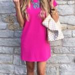 Like Barbie: pink color in clothes