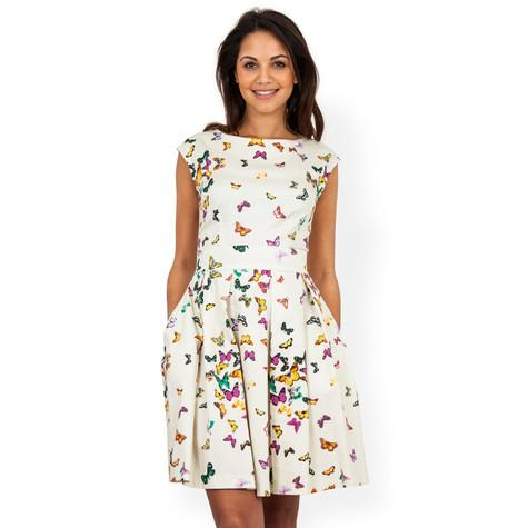 short butterfly dress