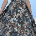 Butterfly Print Dress — You Are Wonderful!
