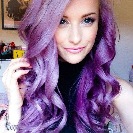 lavender hair