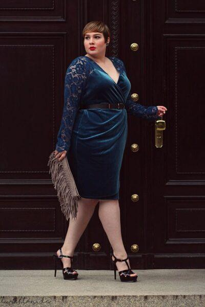 Velvet Dresses Plus Size for Stylish Women