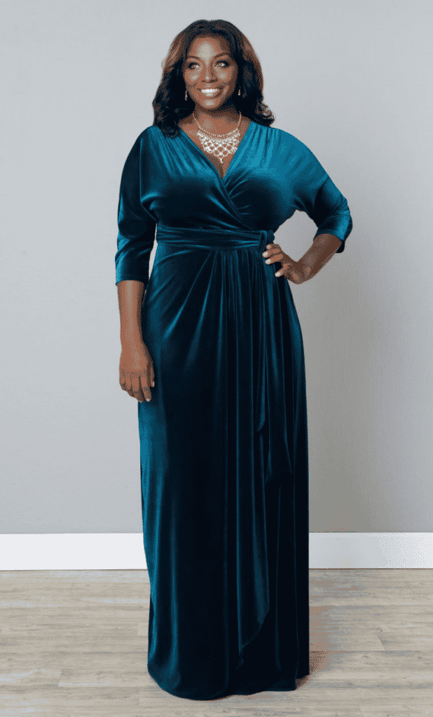 Velvet Dresses Plus Size