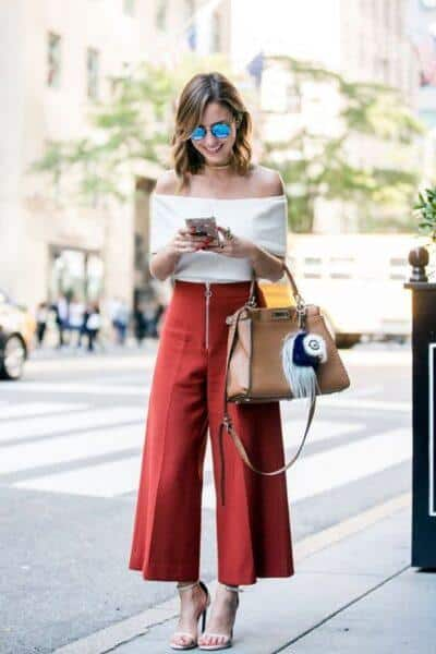 How to Wear Culottes Pants Right Way?