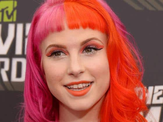 Hayley Williams color-hair