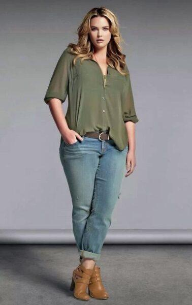 jeans for plump women