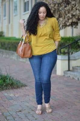 fashion jeans plus size