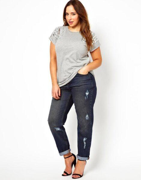 fashion jeans plus size