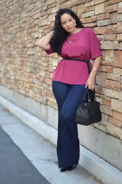 fashion jeans for plus sizes
