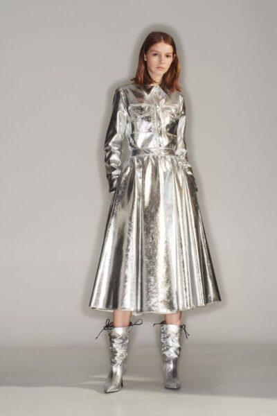 metallic clothes