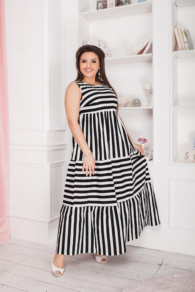 polka doll dress for plump woman