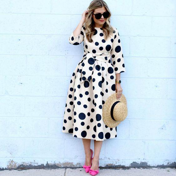polka-dot clothes