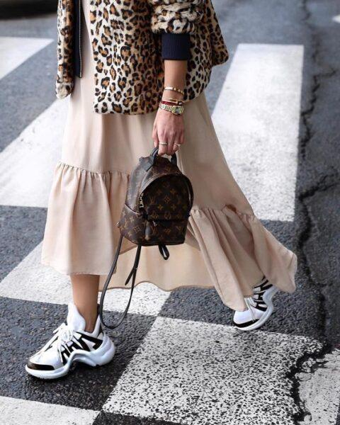 ugly sneakers with dress