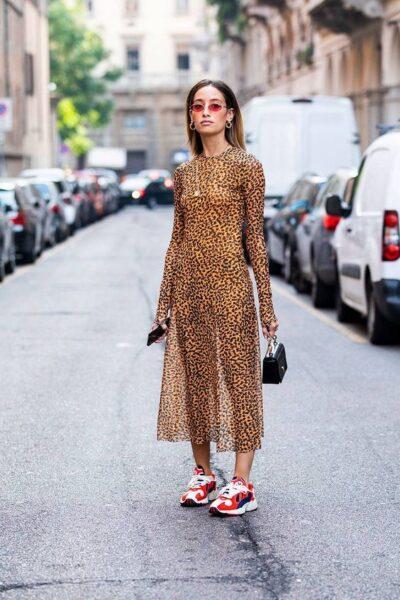 leopard dress with leopard dress