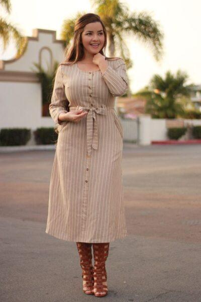 plus size shirtdress 2020