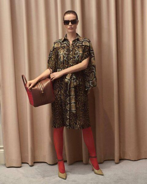 animal print shirtdress 2020