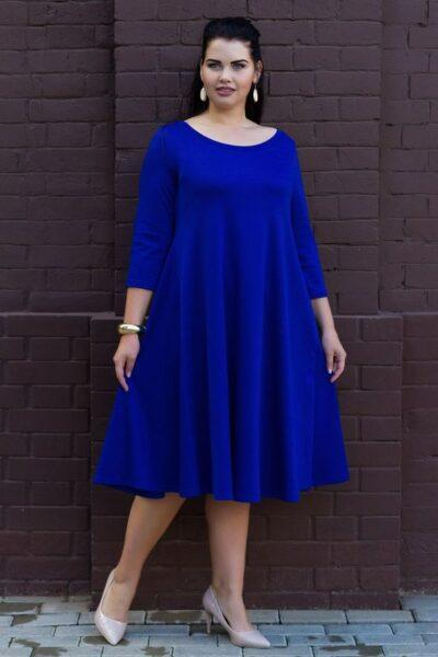 A-line style dresses for chubby women