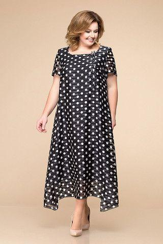 maxi A-line dresses for plus-sized women