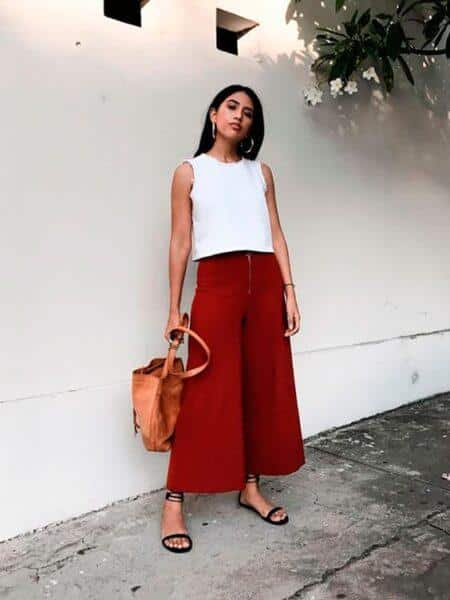 Fashionable culottes 2020