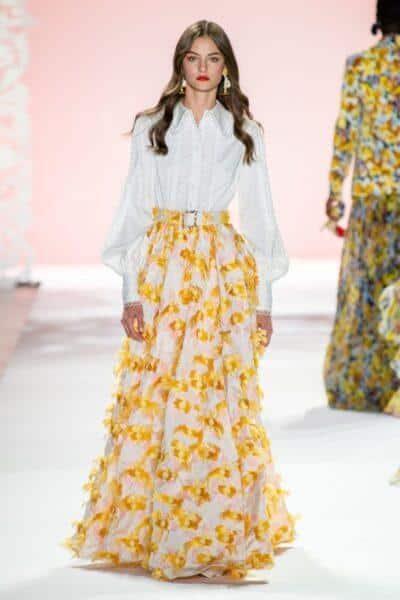 Trendy long skirts 2021: fashion for stylish women