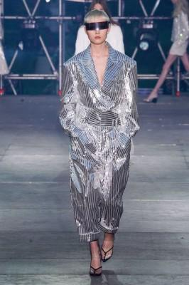 metallic fashion trend 2020