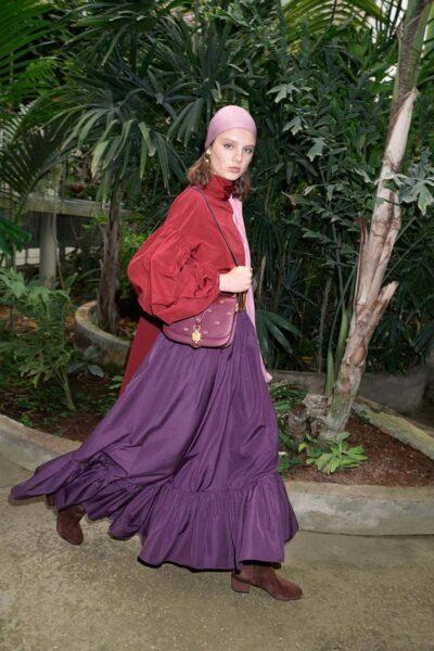 Trendy long skirts 2020: fashion for stylish women