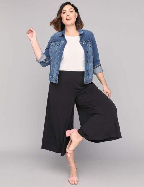 culottes for plump women