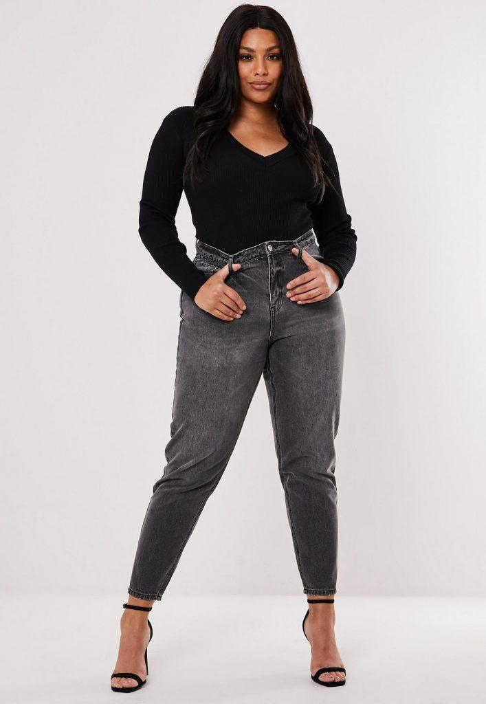 mom jeans plus size