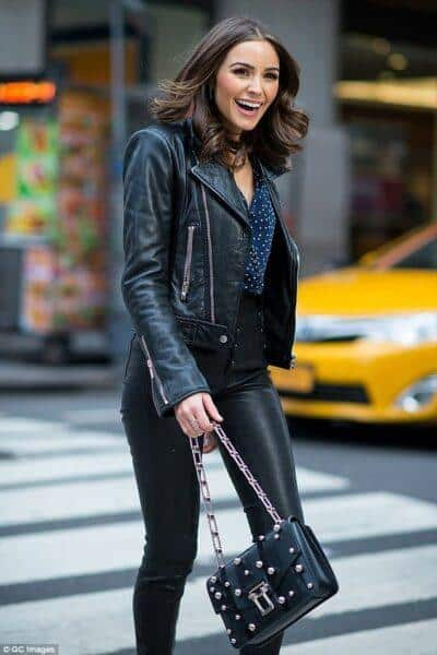 What to wear leather trousers with