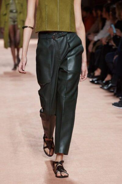 leather carrot pants 2020