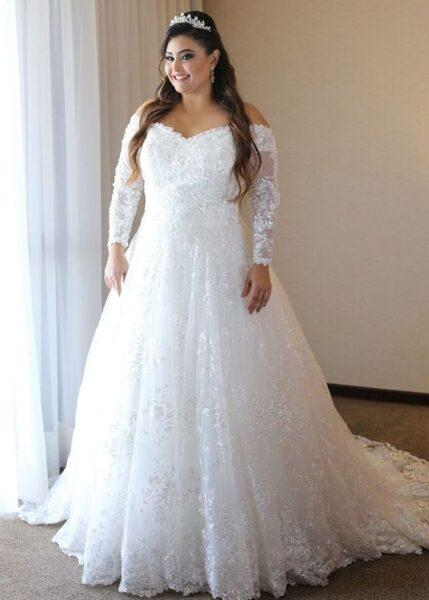 lace style for plus size