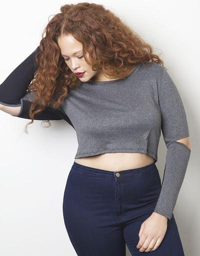 Crop top for plus size