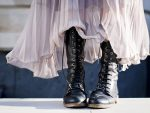 The Best Duo: Long Skirts with Boots