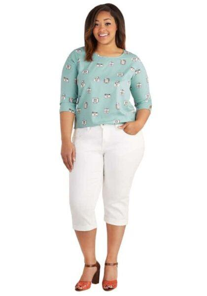 How To Wear Cropped Pants (For Plus Size Women)